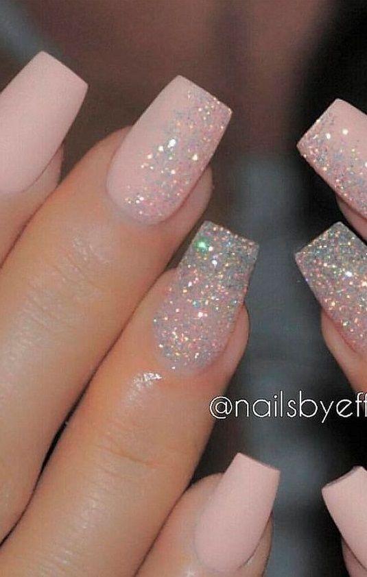 20 Fabulous Wedding Nail Designs 2020 Nail Designs For Wedding In 2020 Bridal Nails Bride Nails Wedding Nails Design