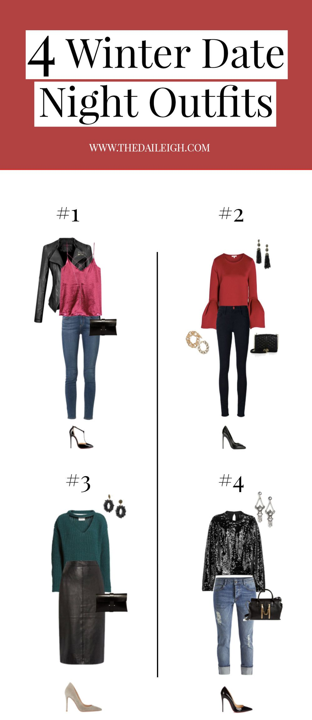 Winter date outfits
