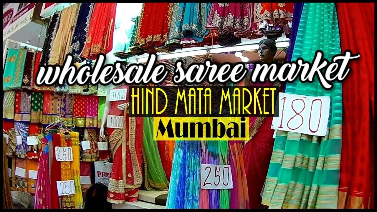 Wholesale Saree Market Dadar Mumbai Hind Mata Market Shopping In Mumbai In Mumbai Mumbai