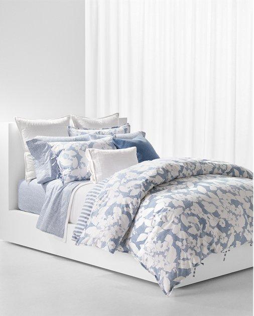 Willa Floral Duvet Set Floral comforter sets, Comforter