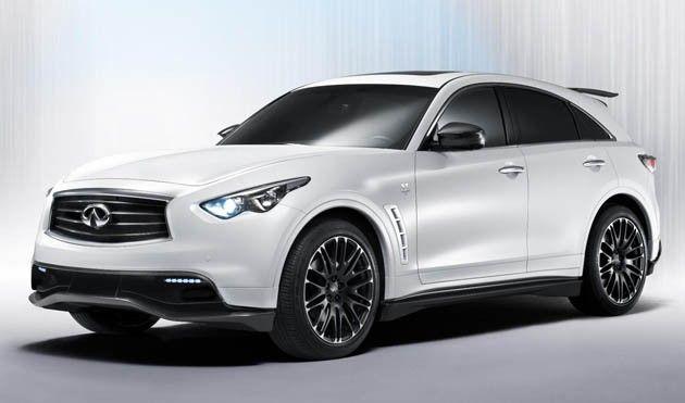 infiniti prices sebastian vettel edition fx at $155k | cars