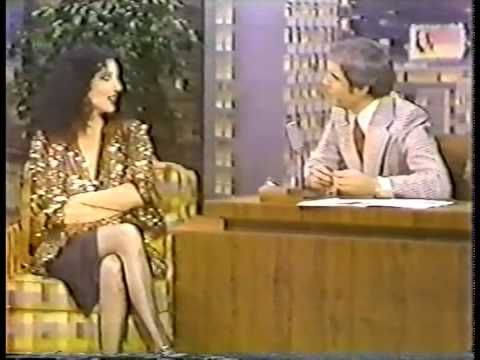 Cher on the Tonight show 1979