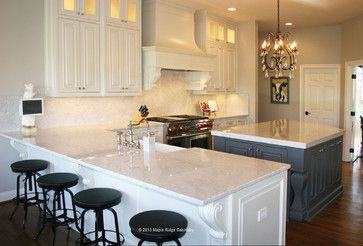 White Painted Custom Kitchen Cabinets, Clean Design In Virginia      Designing And Building Custom