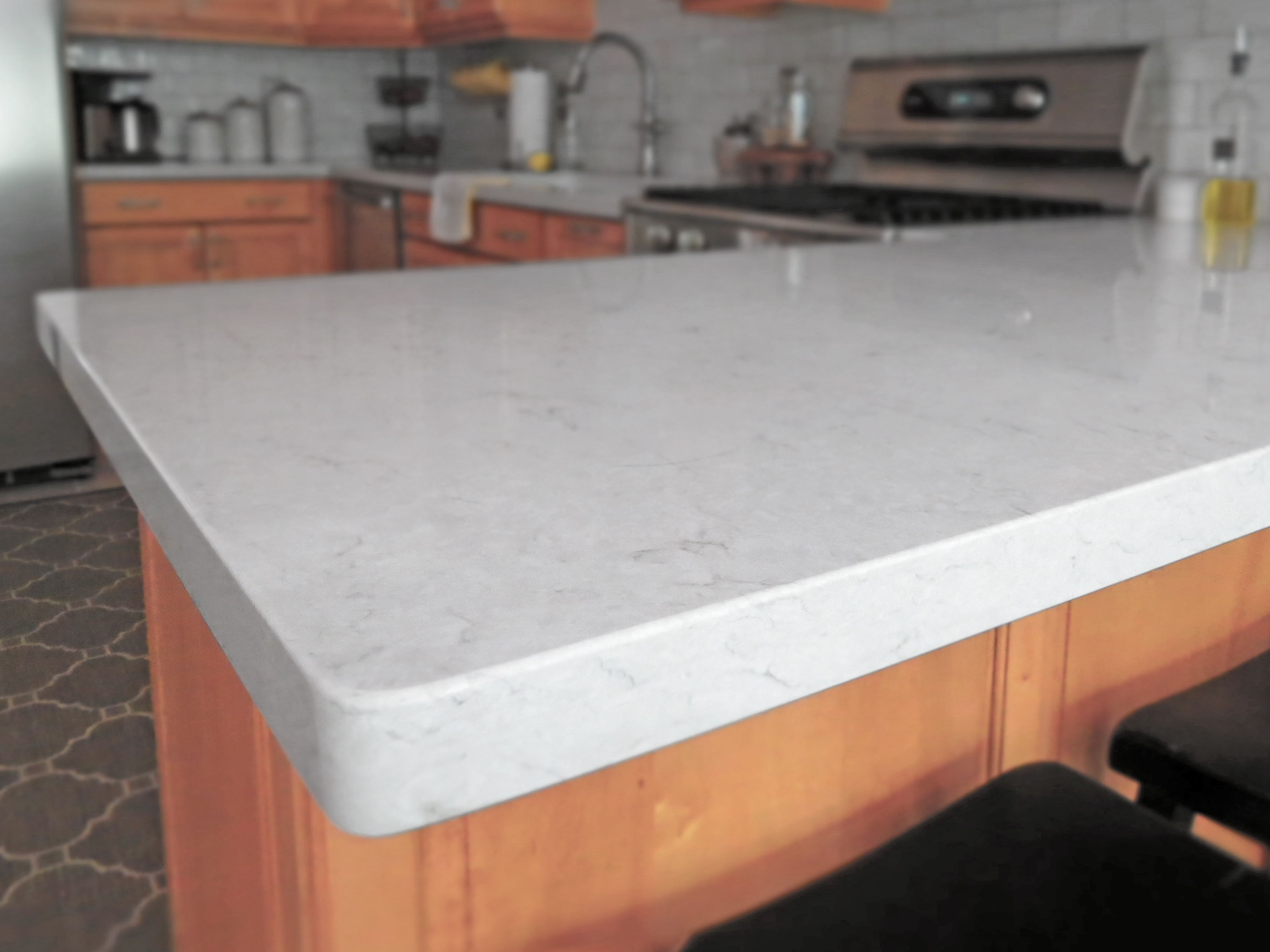 Breakfast Bar The Heart Of Our Home Silestone Snowy