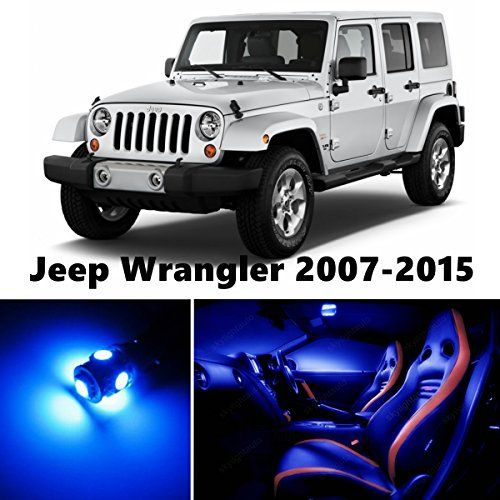 Jk Jeep Wrangler Led Blue Interior Lights Package Jeep Jeep