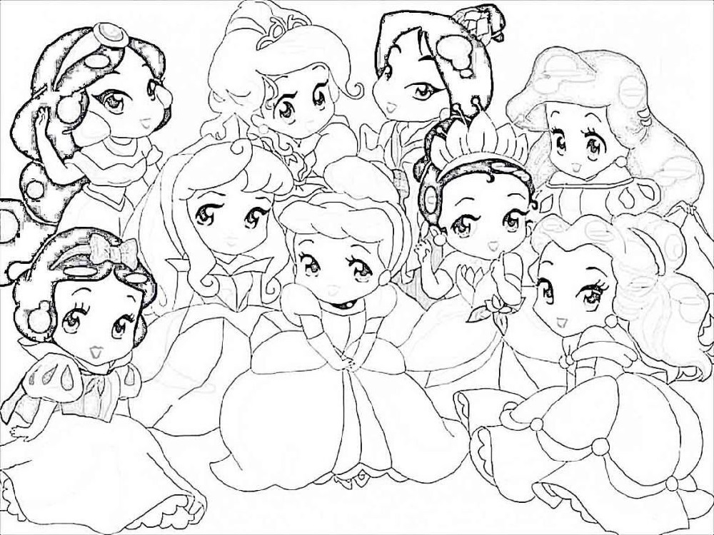 Pretty Coloring Pages for Girls | 101 Coloring | Disney ...