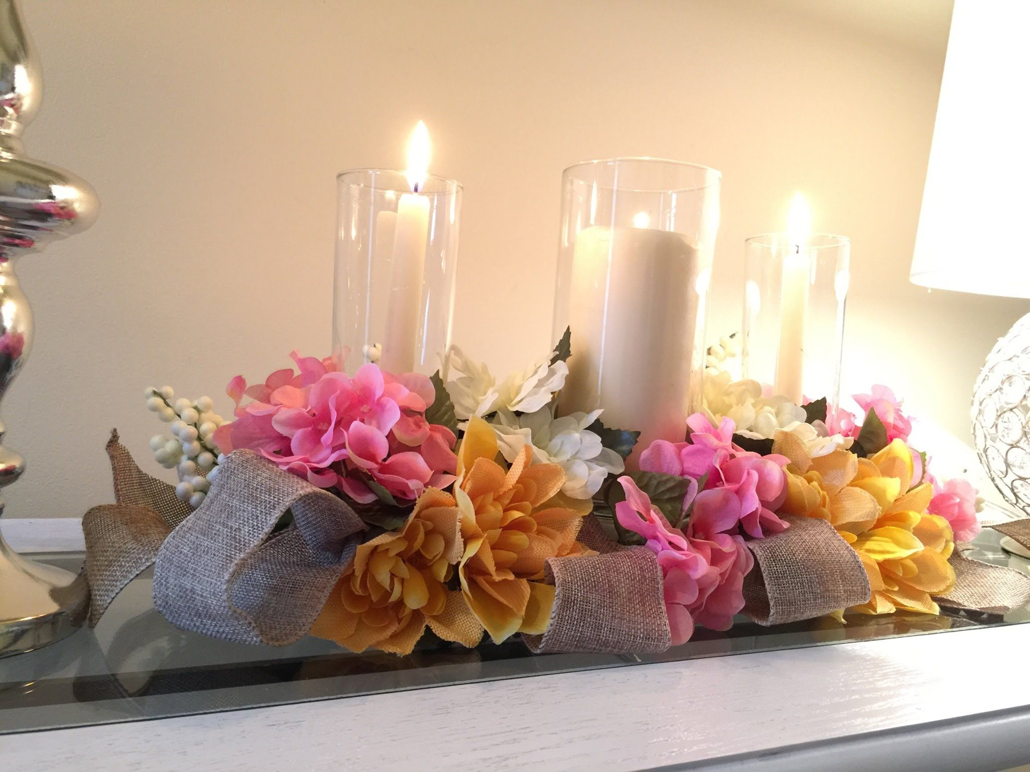 DIY Tutorial : How To Make Centerpieces From Grocery Store Flowers