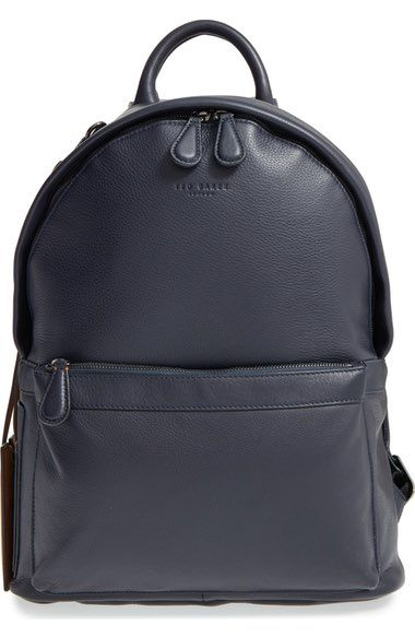 0768b87fc76f TED BAKER  Dollar  Leather Backpack.  tedbaker  bags  leather  lining   backpacks