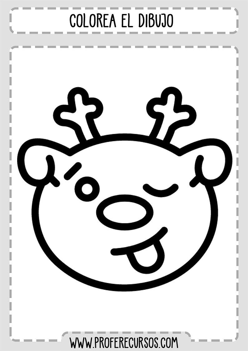 Dibujos Faciles Y Divertidos Para Colorear Profe Recursos Dibujos Faciles Dibujos Faciles Y Divertidos Colorear Para Ninos