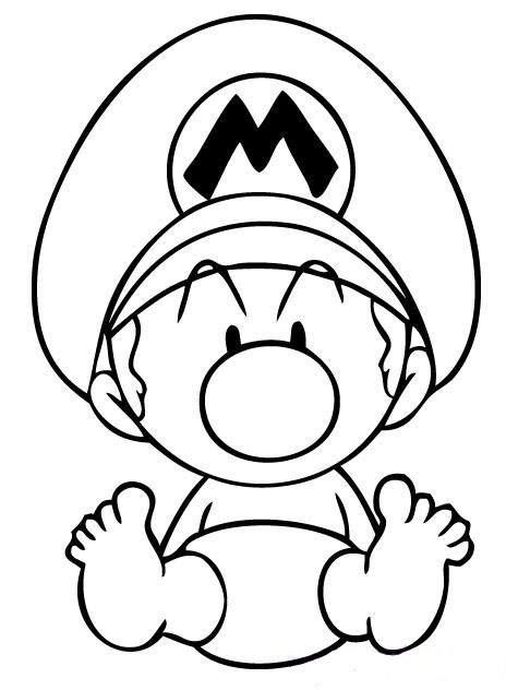 Pin By Will Ducky On Cartoons Mario Coloring Pages Super Mario Coloring Pages Coloring Pages Inspirational