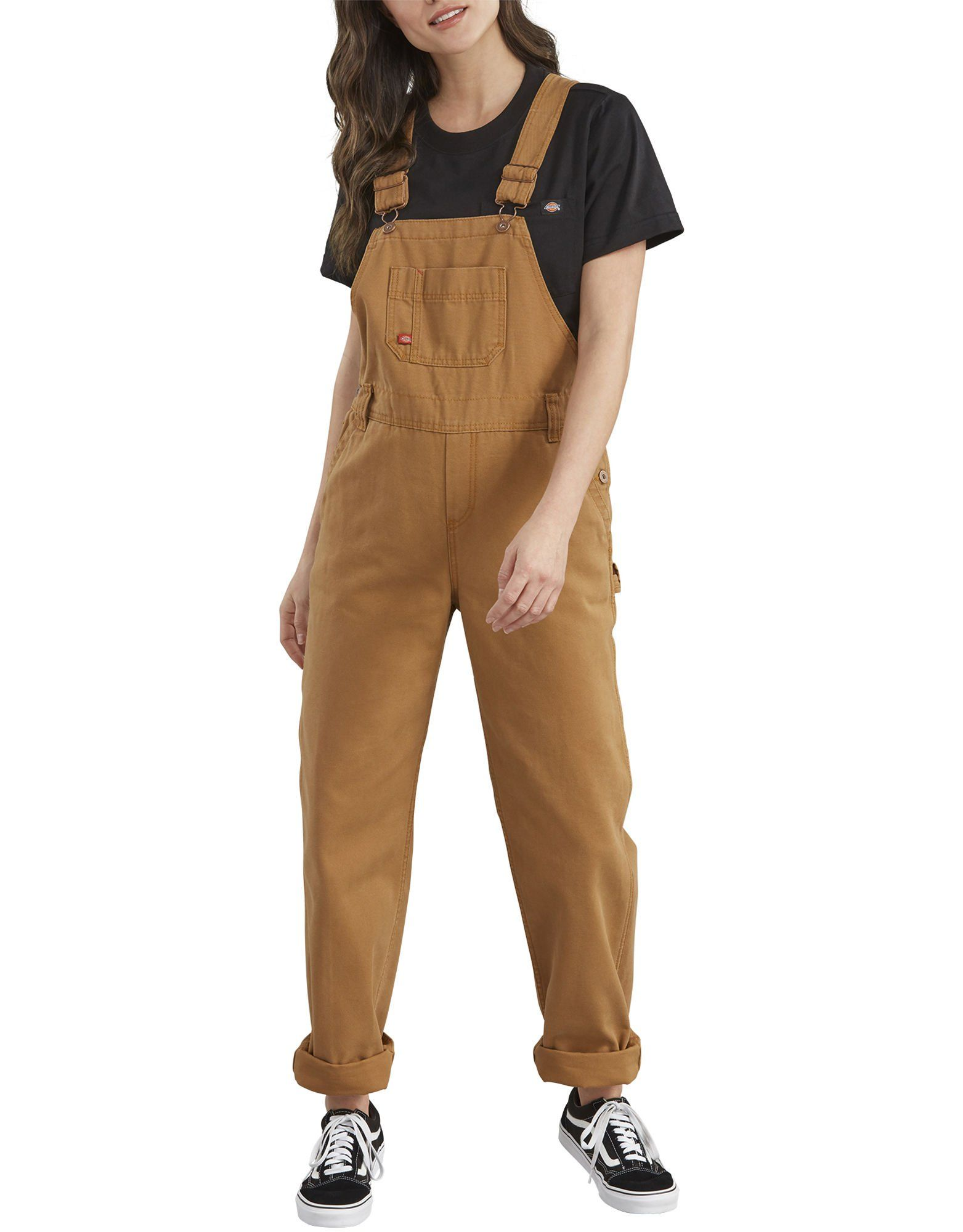 7b65eacb795 Women's Bib Overalls, Brown Duck in 2019 | Clothes | Overalls women ...