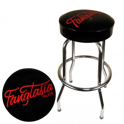 Awesome I Am Totally Getting This True Blood Fangtasia Bar Stool Theyellowbook Wood Chair Design Ideas Theyellowbookinfo