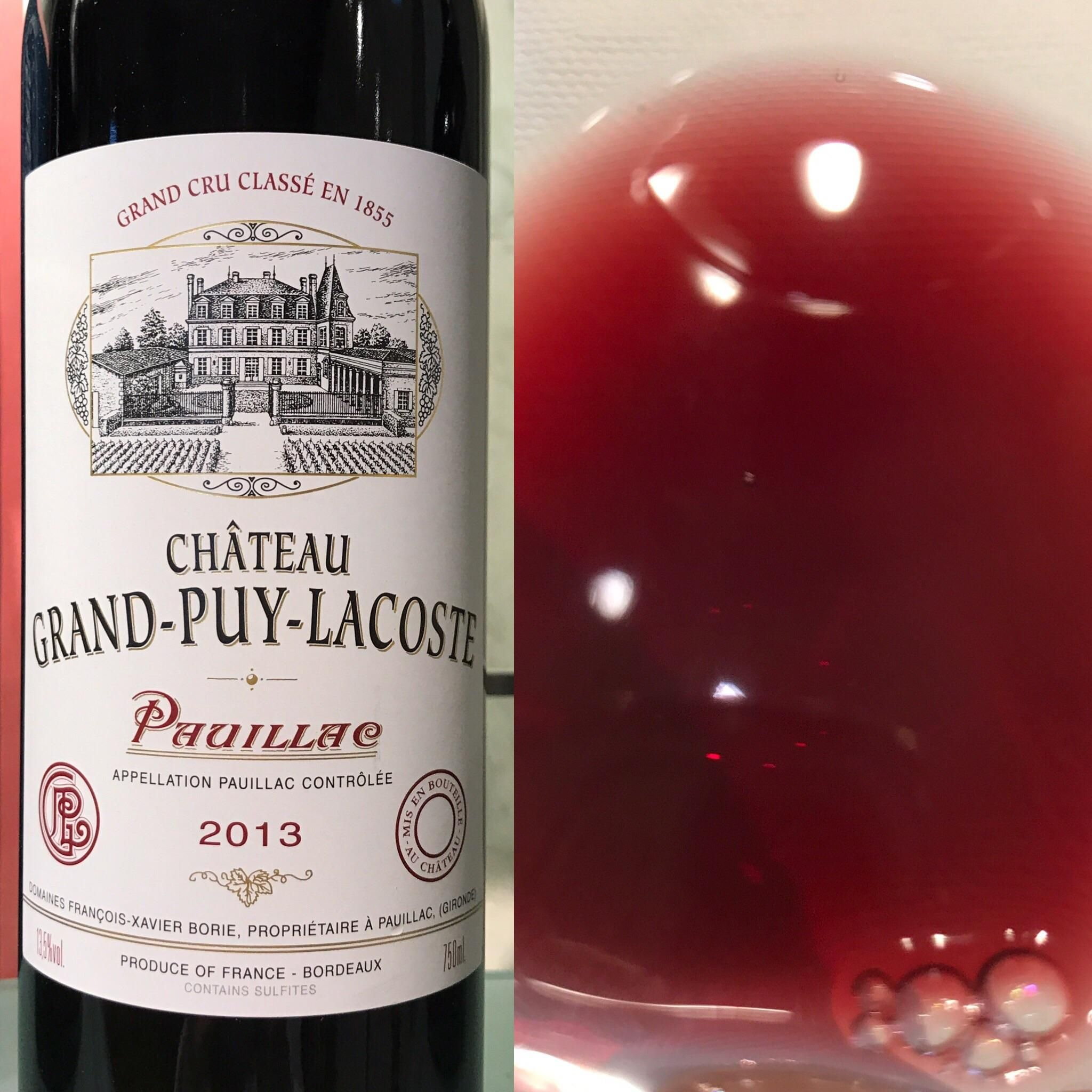 Chateau Grand Puy Lacoste Pauillac Grand Cru Classe 2013 Wine Winelover Tips Vino Winewednesday Winelovers Italy Wine Bottle Wine Lovers Cru