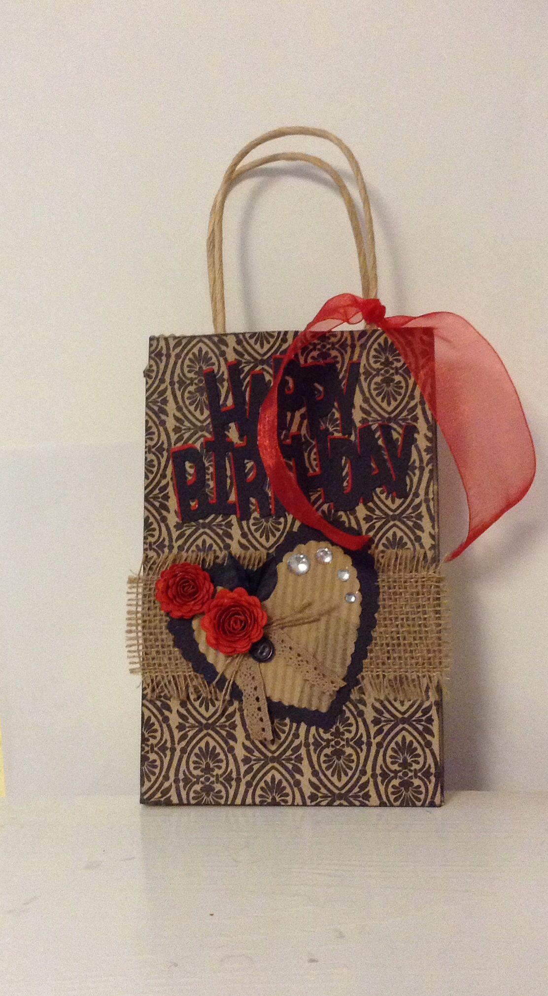 Gift Bag Created By Glk 2014 Decorated Gift Bags Gift