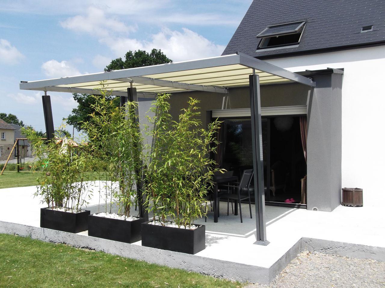 tonnelle en alu pos terasa pinterest tonnelles notre maison et terrasses. Black Bedroom Furniture Sets. Home Design Ideas