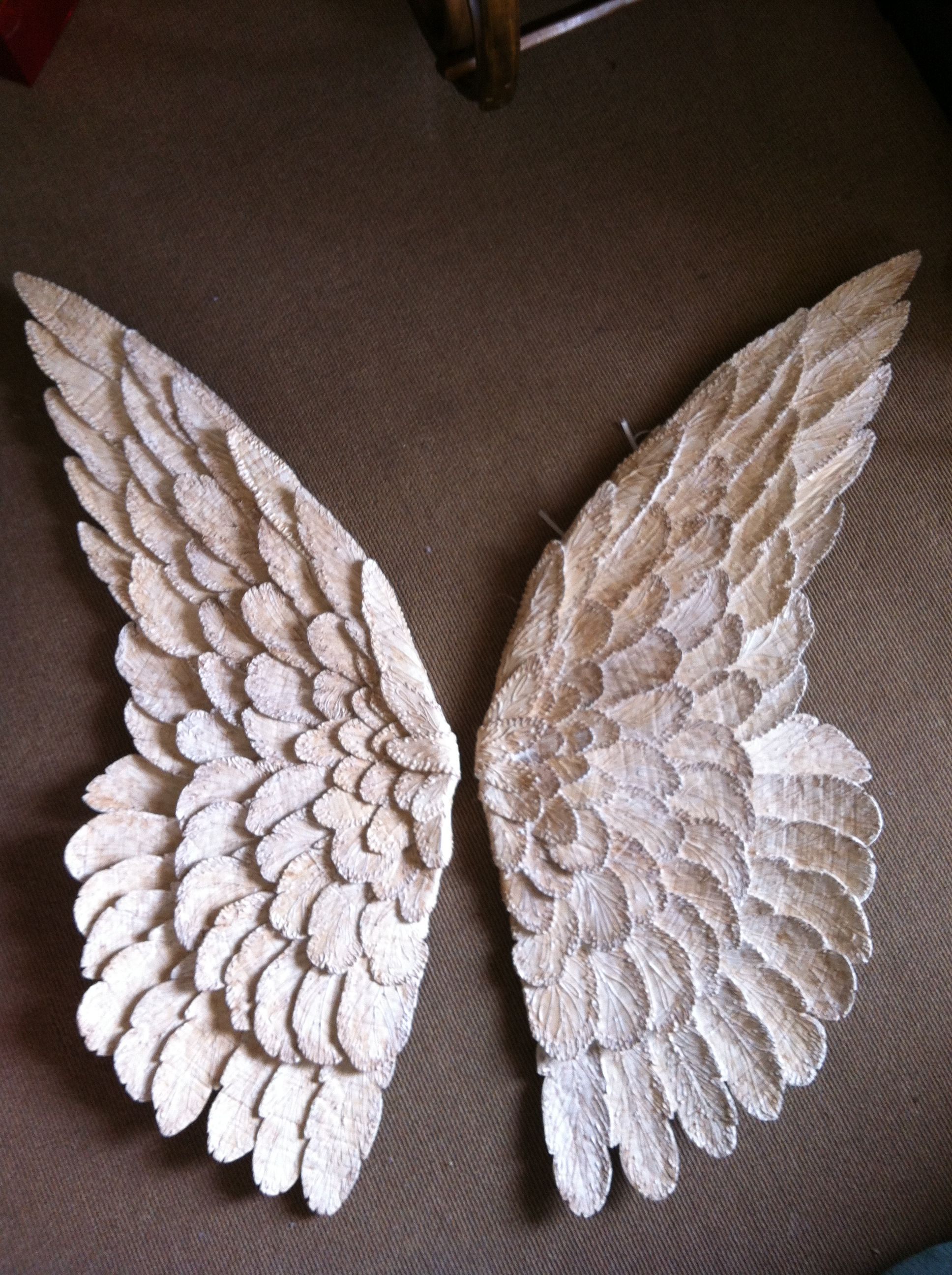 Angle Wings Made By Michelle Out Of Cardboard Diy