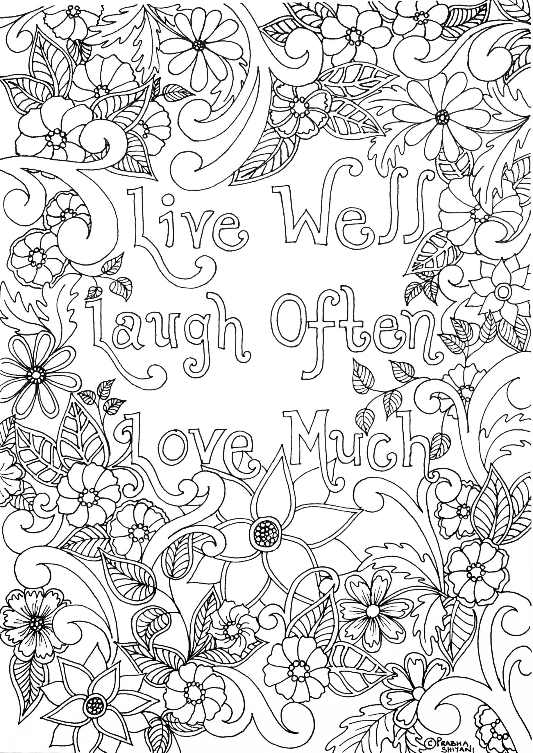 Mindful Affirmation Colouring Book | Coloring pages ...