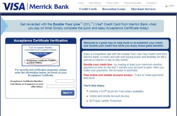 Get A Better Credit Limit Through Merrick Bank Double Your Line