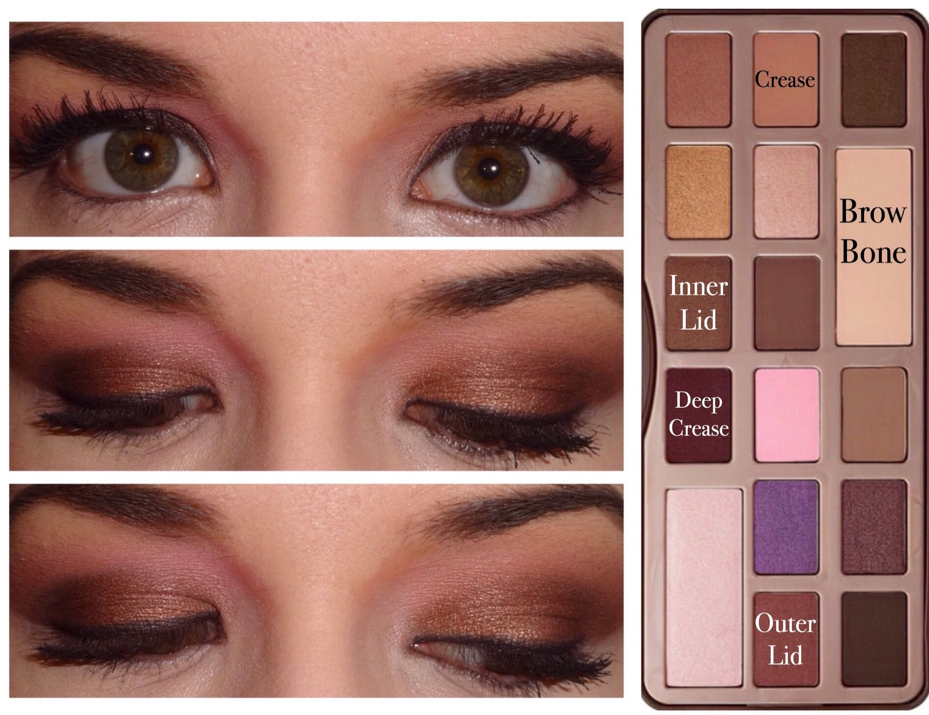 5 looks with Too Faced Chocolate Bar | makeup | Pinterest | Bar ...