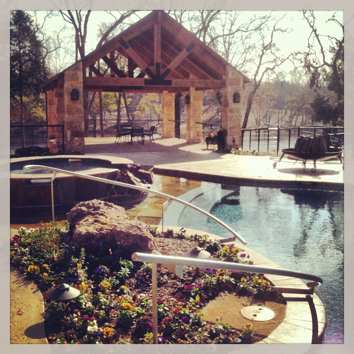 Custom Designed And Constructed Radius Pool In East Texas By Preferred Pools Inc Stainless