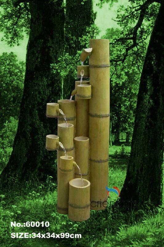 Bamboo Fountain Fontes De 225 Gua De Jardim Fonte De Bambu