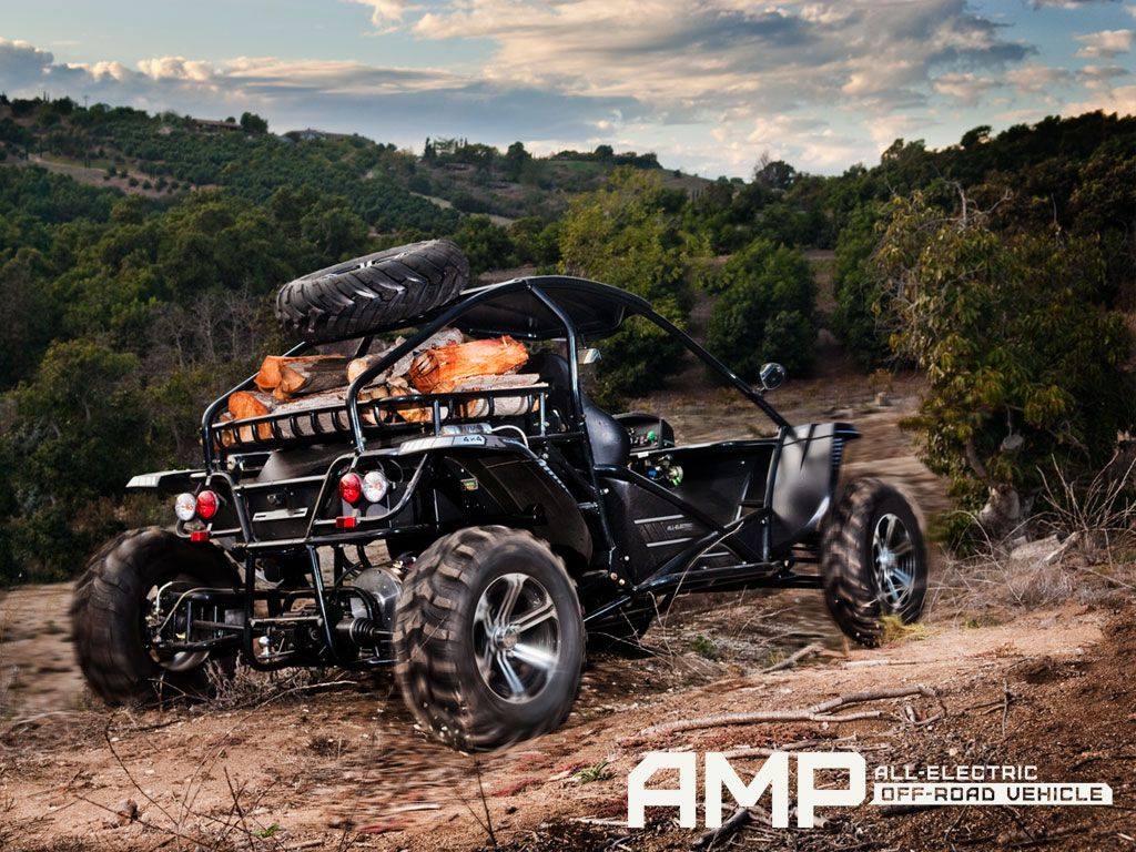Electric Off Road Hunting Vehicle Sneak Up On Your Prey