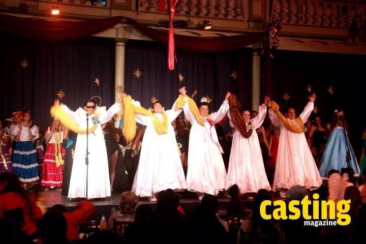 """Se presentó con éxito la obra musical ¡BAILEMOS PASTORES! en la Escuela Industrial """"Concepción Quirós Pérez"""" en Xalapa, Veracruz, con más de 60 artistas en escena entre músicos, bailarines y el Ballet Folklorico de Veracruz."""