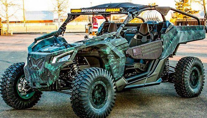 Military Maverick X3 Modded Mondays Atv Com Can Am Atv Military Atv