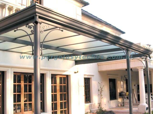 Resultado de imagen para techos de policarbonato for Techos exteriores para casas