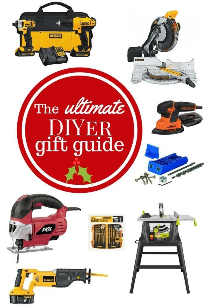 The Ultimate Diyer Gift Guide Diyer Unique Diy Gifts Diy Projects For Beginners