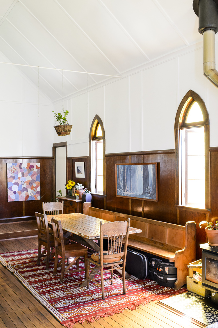 I am taking a quick kitchen painting break to share this beautiful church conversion in byron bay with you it was featured on the lovely citizens of the