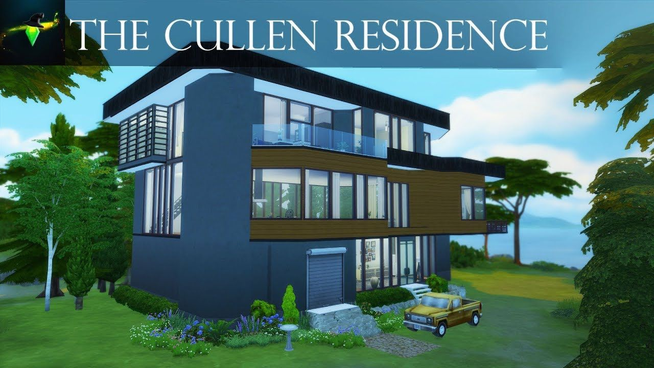 The Cullen Residence From Twilight The Hoke House The Sims 4 Speed B Cullen House Twilight Twilight House Sims House