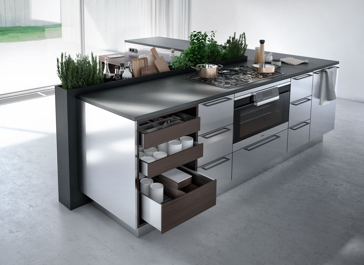 SieMatic - Hansa Complet Küchen  Küchenstudio  Einbauküchen