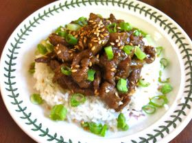 Piece, Love, & Cooking: Mongolian Beef