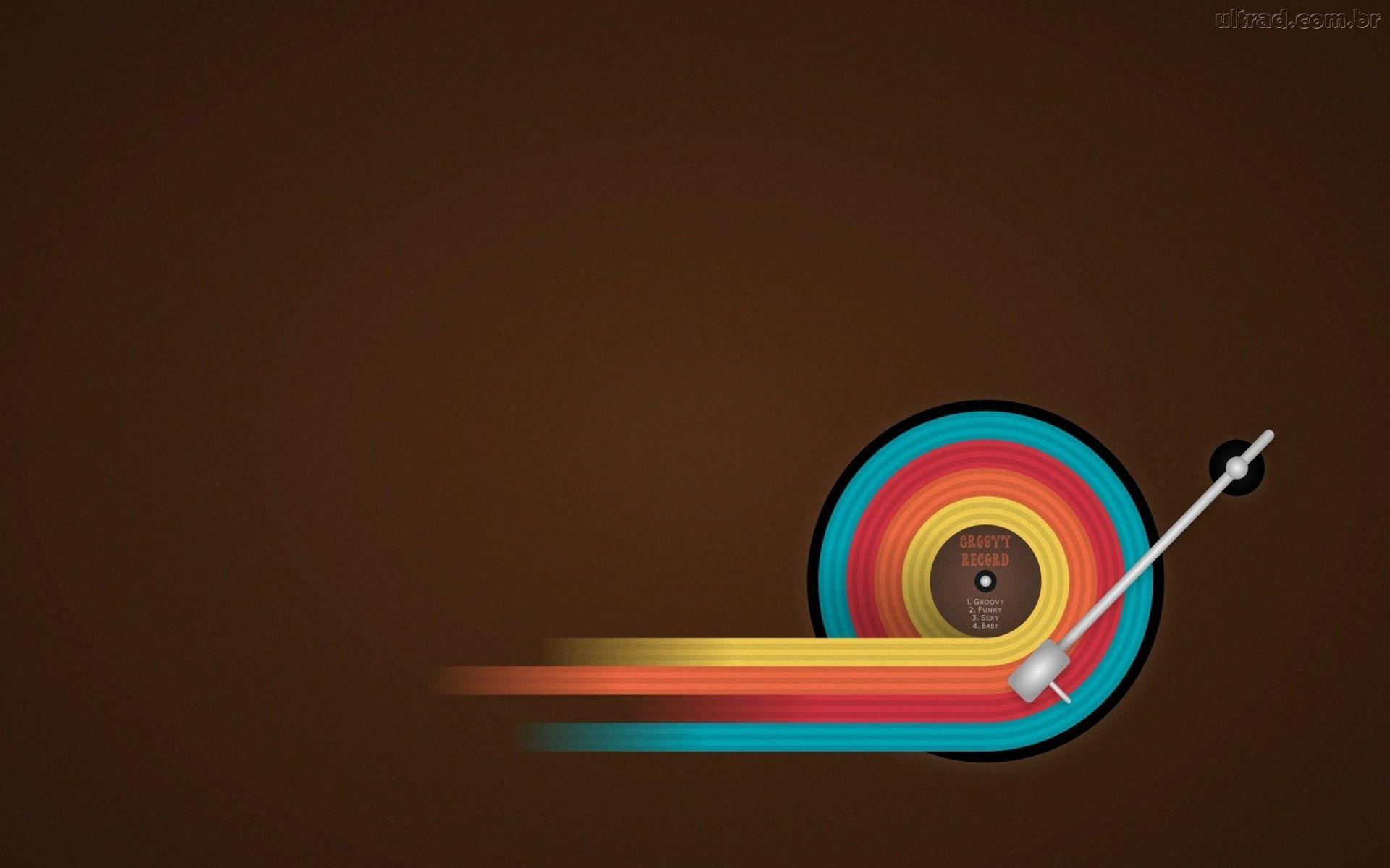 276100 Papel De Parede Musica Saindo Do Disco De Vinil 1920x1200 Jpg 1920 1200 Music Wallpaper Wallpaper Music Themed