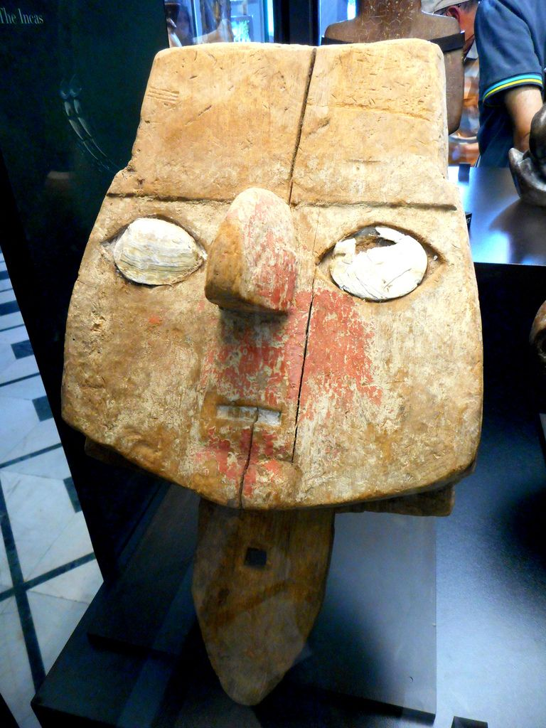 All Sizes Funerary Wooden Mask 1200 1400 Ad From Peru Peru Chancay Culture The World That Wasn T There Pre Columbi Masks Of The World Art Museum Culture