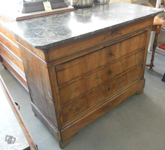 commode marbre style louis philippe