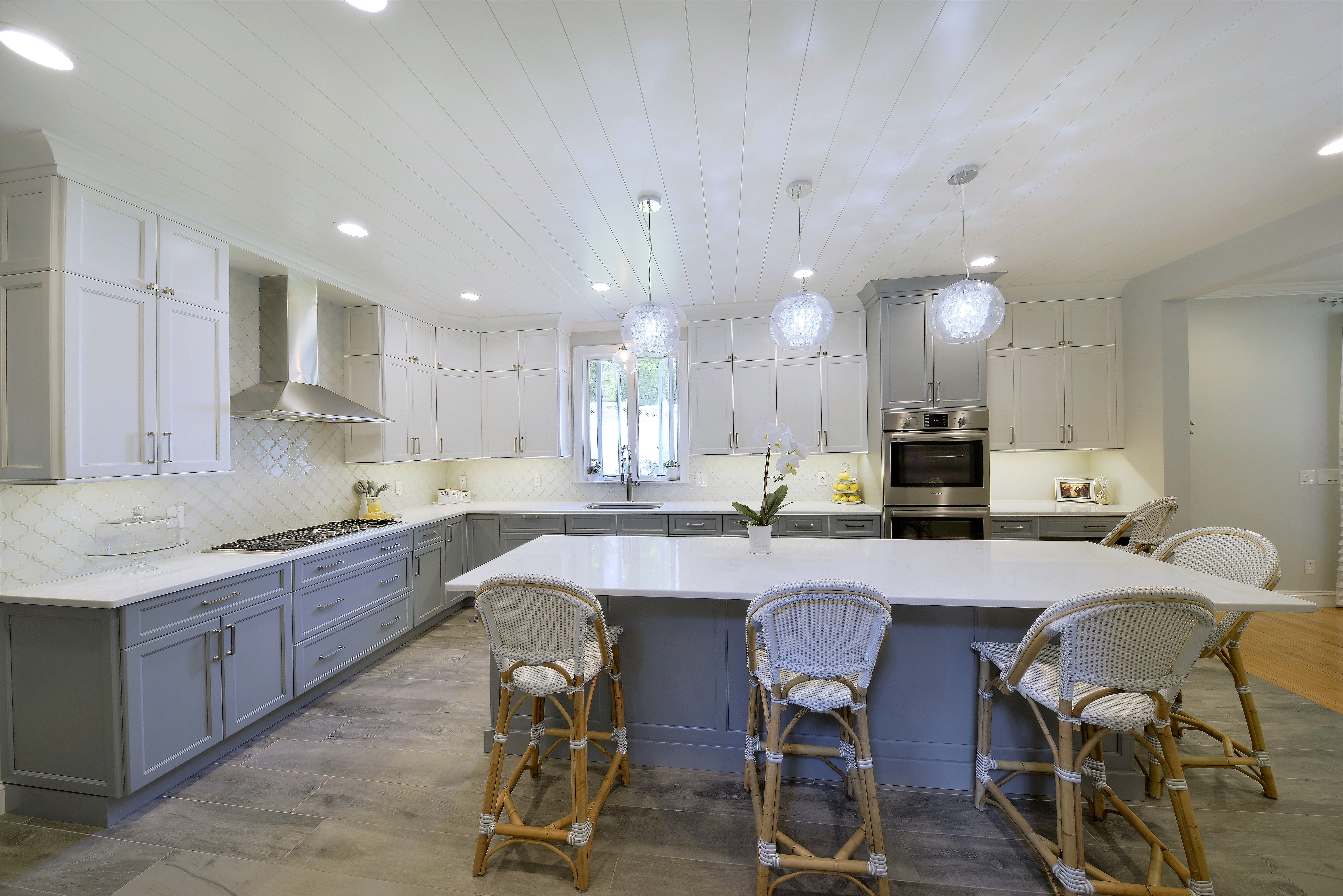 Beautiful #Cabico Kitchen with #Cambria Countertops Designed by ...