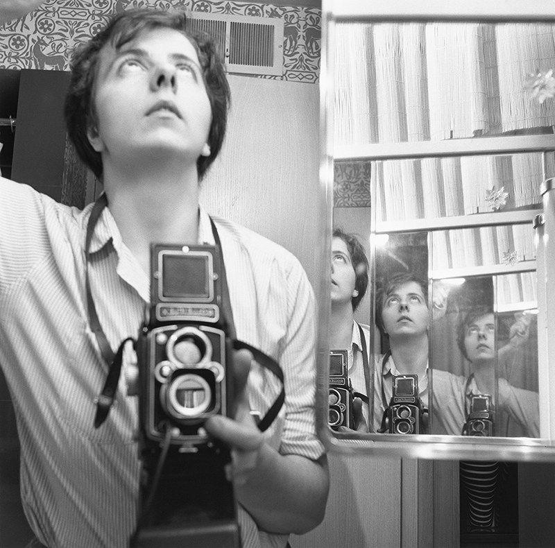 Mysterious Street Photographer Vivian Maier's Self-Portraits | Brain Pickings
