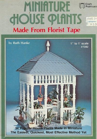 Miniature House Plants -(book complete)