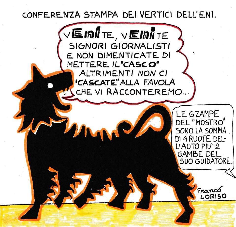 Vignetta di Franco Loriso  (si ringrazie per cortesia e gentilezza)
