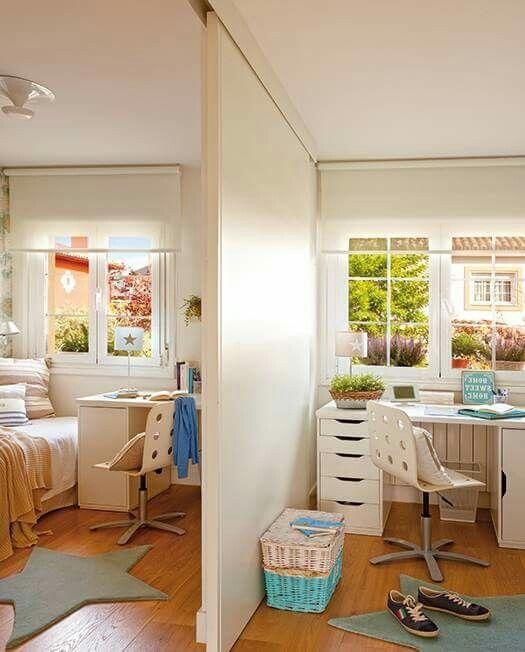 genial panel corredizo para dividir cuartos decoraci n On crea una pequena habitacion para 2 ninos