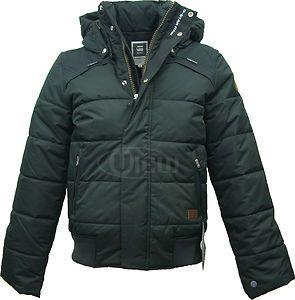 details about new g star raw mens whistler hooded bomber winter jacket. Black Bedroom Furniture Sets. Home Design Ideas