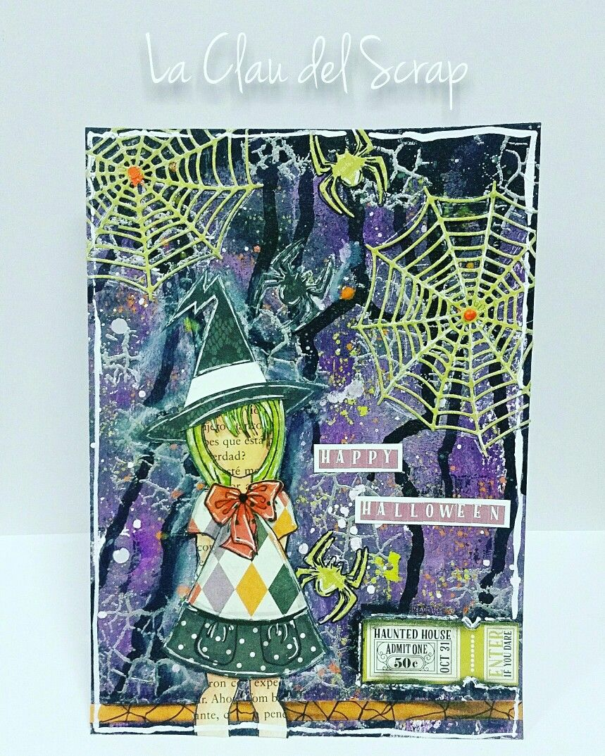 Prima doll Julie Nutting art journal Page Halloween art ...