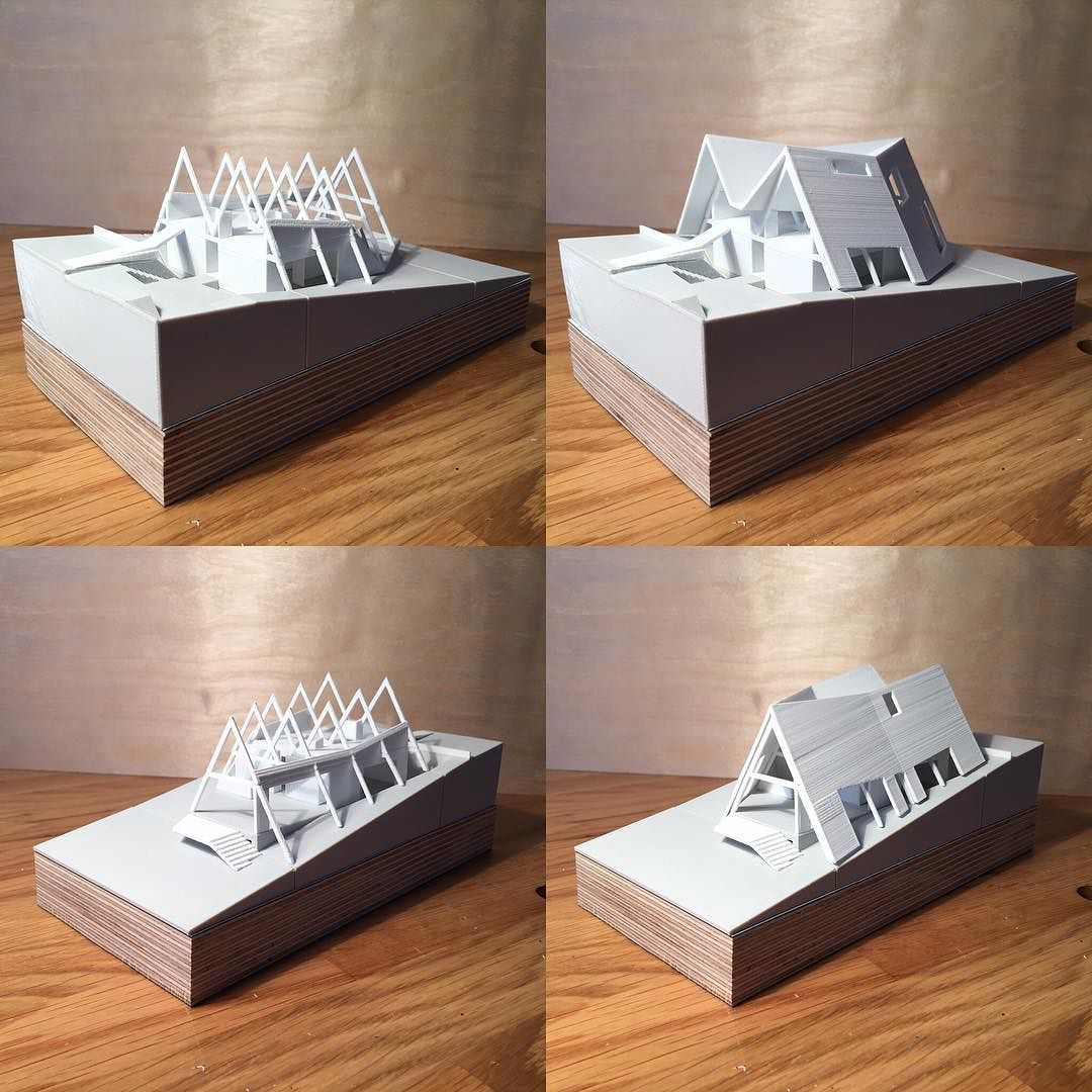 The Ants' Nest - concept design #architecturemodel