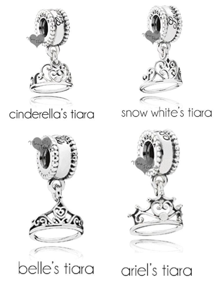 5d530ca28fdeb Details about NEW 2015 Spring Disney Pandora Princess Tiara's Elsa ...