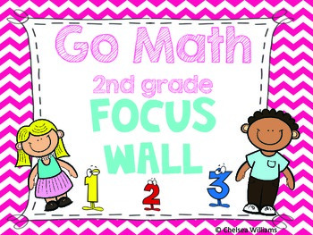 Go Math Focus Wall- 2nd Grade (Entire Year) | TpT Life in