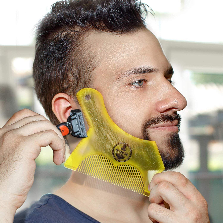 Manecode Beard Shaping Tool Trimming Shaper