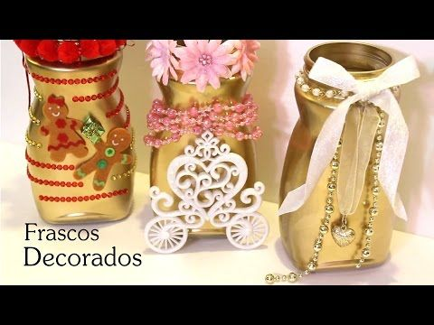 Diy frascos decorados frascos pinterest frascos - Diy frascos decorados ...