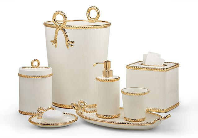 Rope Gold Labrazel Luxury Bath Accessories Bath Accessories